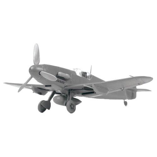Купить Сборная модель ZVEZDA Немецкий истребитель Мессершмитт Bf-109F4 (4806) 1:48, Сборные модели