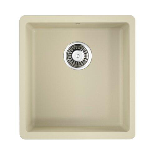 Врезная кухонная мойка 40 см OMOIKIRI Kata 40-U 4993394 ваниль