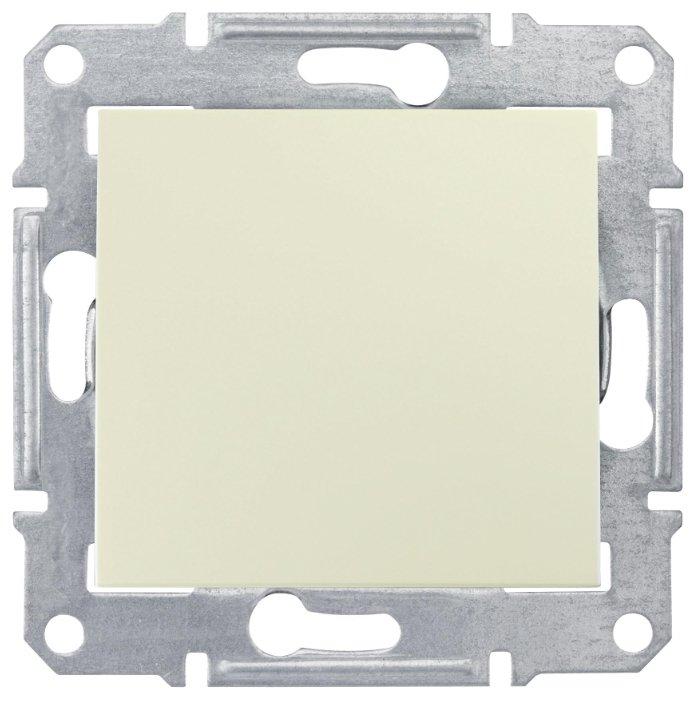 Выключатель 1-полюсный Schneider Electric SEDNA SDN0100147, 10А , бежевый