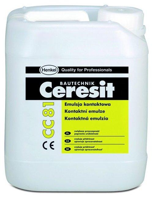Добавка адгезионная Ceresit СС 81 10 л