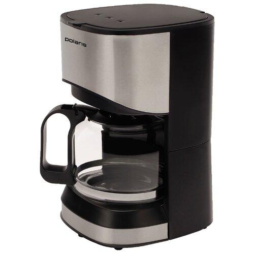 Кофеварка Polaris PCM 0613A черный/серый