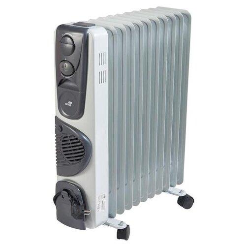 Масляный радиатор WWQ RM02-2511F белый/серыйОбогреватели<br>