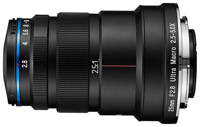 Объектив Laowa 25mm f/2.8 2.5-5x Ultra Macro Sony FE