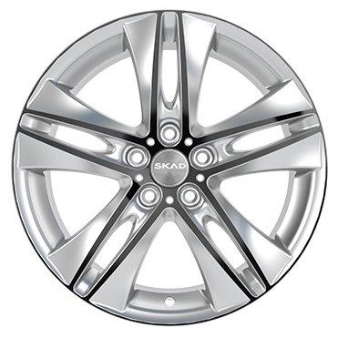 Колесный диск SKAD Эссен 7x17/5x114.3 D60.1 ET39 Селена — Колесные диски — купить по выгодной цене на Яндекс.Маркете