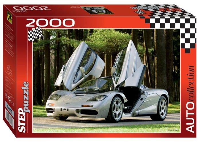Пазл Step puzzle Auto Collection Макларен Ф1 (84019), 2000 дет.