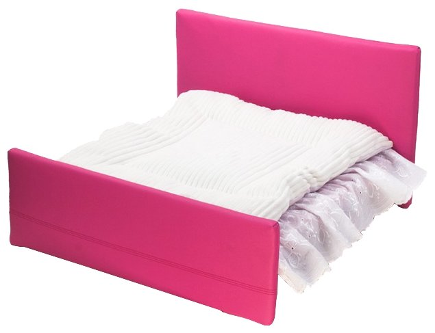 Лежак для кошек 7Pet кровать с двумя спинками 55х50х35 см