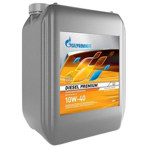 Моторное масло Газпромнефть Diesel Premium 10W-40 20 л