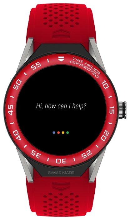 TAG Heuer Часы TAG Heuer Connected Modular 45 (каучук, алюминий)