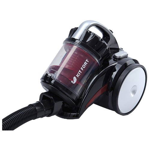 цена на Пылесос Kitfort KT-522 красно-черный