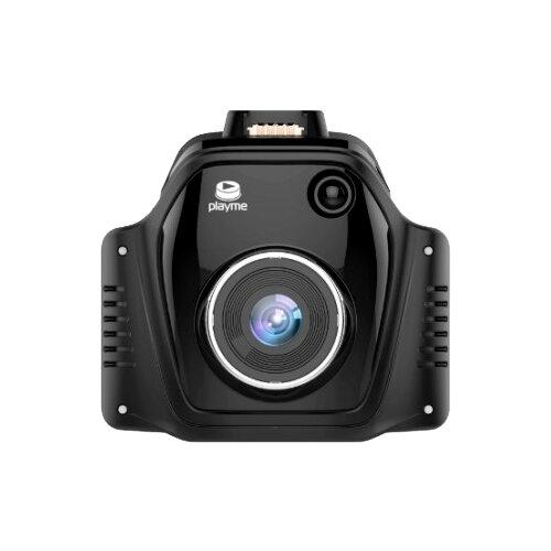 Видеорегистратор с радар-детектором Playme TURBO, GPS черный