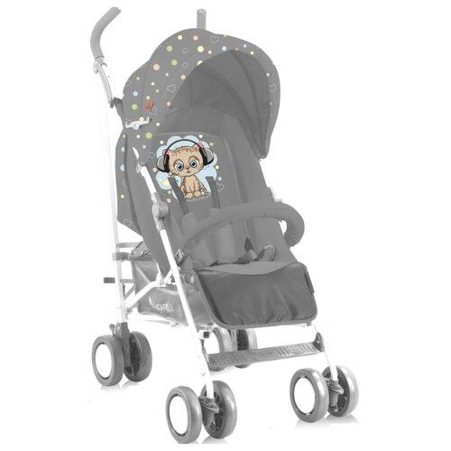 Купить Прогулочная коляска Lorelli Fiesta (с накидкой) grey cute kitten, Коляски