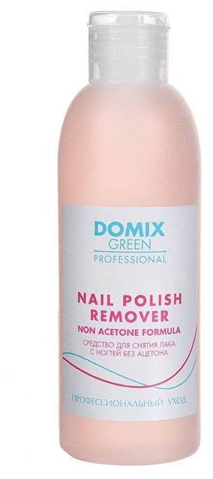 Купить Domix Green Professional Nail Polish Remover Non Aceton Formula Средство для снятия лака с ногтей без ацетона 200 мл по низкой цене с доставкой из Яндекс.Маркета (бывший Беру)