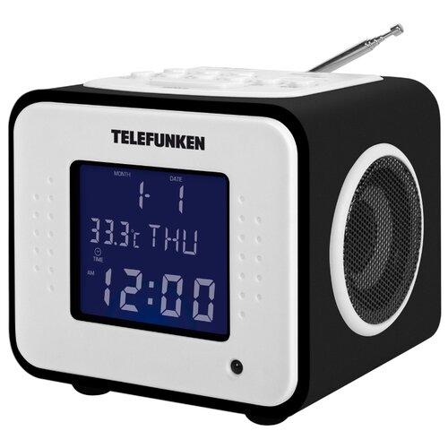 Радиобудильник TELEFUNKEN TF-1575U черное дерево