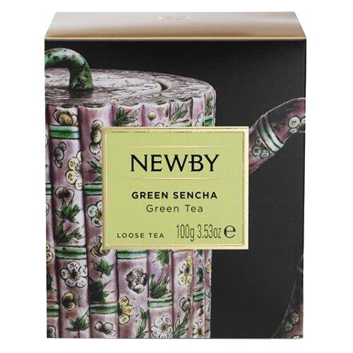 Чай зеленый Newby Heritage Green sencha , 100 г newby hunan green зеленый чай в пирамидках 15 шт