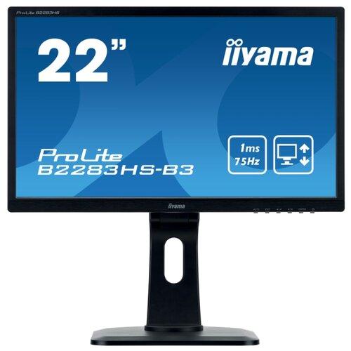 Купить Монитор Iiyama ProLite B2283HS-3 черный