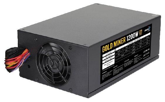 Блок питания AeroCool Gold Miner 1200W