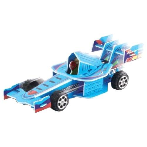 3D-пазл Pilotage 3D Гоночная машина синяя (RC38108), 23 дет. машина радиоуправляемая pilotage topracer xb