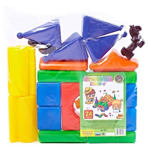 Кубики Строим вместе счастливое детство Постоялый двор-2 5251 строительный набор постоялый двор 2 24 эл в кор 5шт
