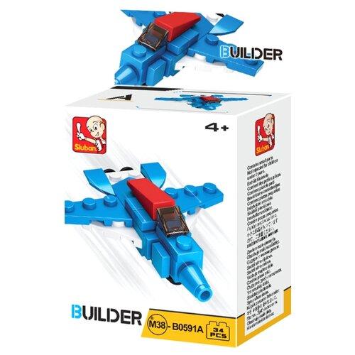 Купить Конструктор SLUBAN Builder M38-B0591A Самолет, Конструкторы