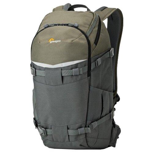 Фото - Рюкзак для фотокамеры Lowepro Flipside Trek BP 350 AW серый рюкзак для фотокамеры lowepro flipside 400 aw ii mica pixel camo