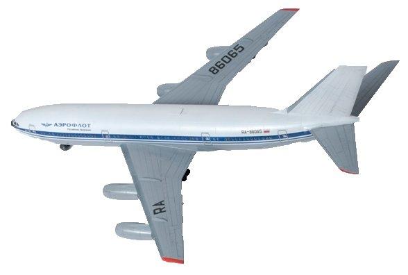 Купить Сборная модель ZVEZDA Пассажирский авиалайнер Ил-86 (7001) 1:144 по низкой цене с доставкой из Яндекс.Маркета (бывший Беру)