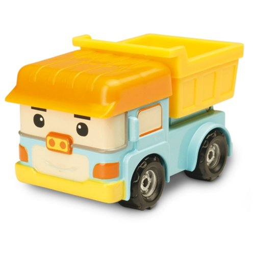 Купить Грузовик Silverlit Робокар Поли Дампи (83164) 6 см голубой/желтый, Машинки и техника
