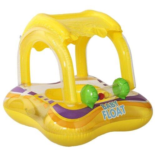Надувные водные ходунки Intex Baby Float 56581 желтый/фиолетовый/зеленыйНадувные игрушки<br>