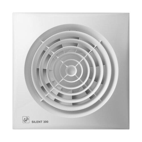 Вытяжной вентилятор Soler & Palau SILENT-300 CZ PLUS, white 21 Вт вытяжной вентилятор soler