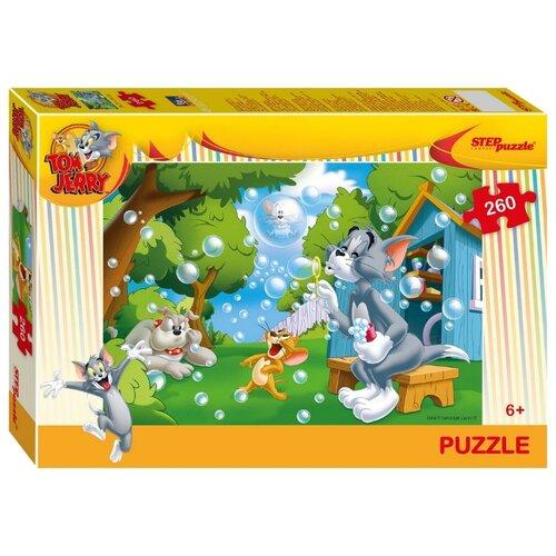 Купить Пазл Step puzzle Уорнер Браз Том и Джерри (95072), элементов: 260 шт., Пазлы