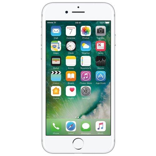 Смартфон Apple iPhone 7 32GB серебристый смартфон apple iphone 7 32gb gold mn902ru a