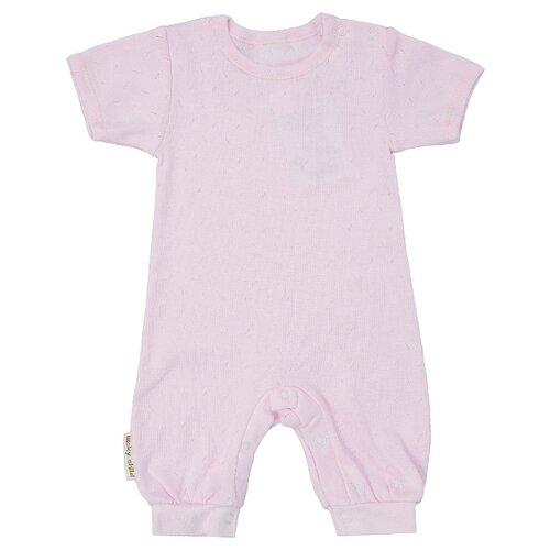 Купить Песочник lucky child размер 24 (74-80), розовый, Боди