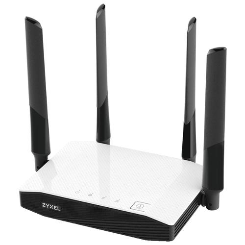 Wi-Fi роутер ZYXEL NBG6604 черно-белый zyxel nwa5560 n белый
