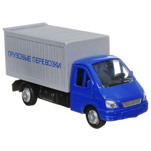 Купить Грузовик ТЕХНОПАРК ГАЗель (SB-16-42-K4-WB) 12 см синий/серый, Машинки и техника