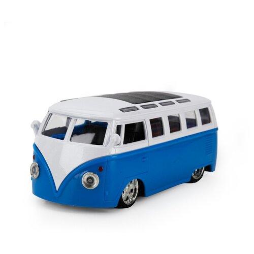 Купить Автобус ТЕХНОПАРК FY8011 12.5 см синий/белый, Машинки и техника
