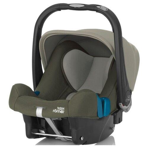цена на Автокресло-переноска группа 0+ (до 13 кг) BRITAX ROMER Baby-Safe Plus II SHR, Olive Green