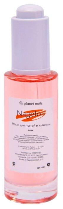 Масло planet nails Для ногтей и кутикулы Роза (пипетка)