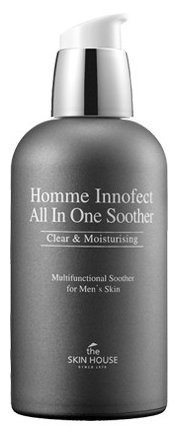 The Skin House Ухаживающее средство для лица Homme Innofect Control All-In-One Soother