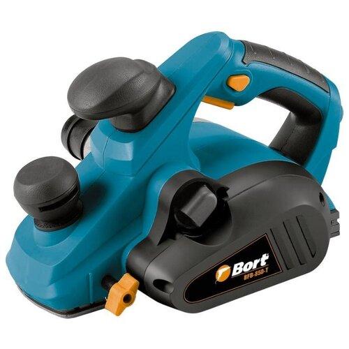 Электрорубанок Bort BFB-850-T синий/черный электрорубанок bort bfb 850 t