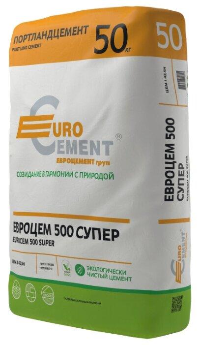 Цемент Евроцемент ЦЕМ I/A-Ш 42.5Н 50 кг. М500