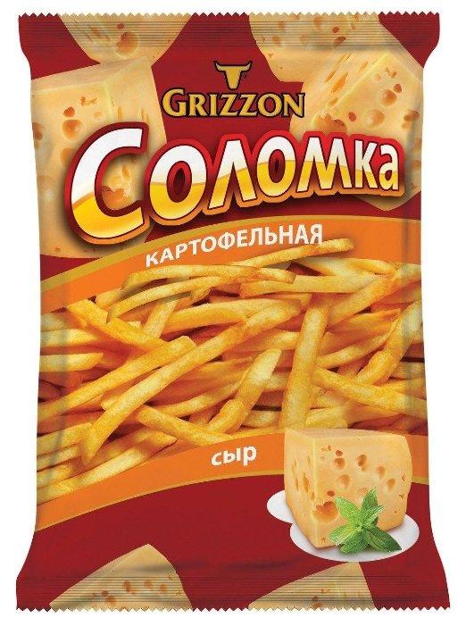 Соломка картофельная GRIZZON со вкусом сыра 80 г