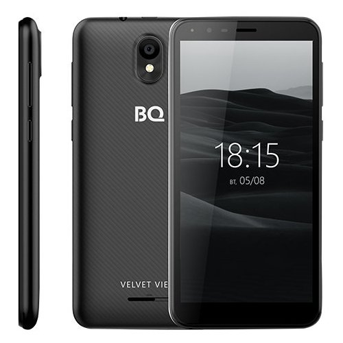 Смартфон BQ 5300G Velvet View черный смартфон