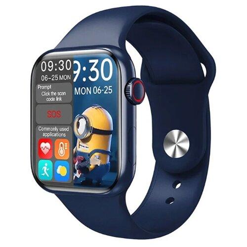 Умные часы Smart Watch HW16 темно-синий умные часы c gps iwo smart watch iwo 11 черный