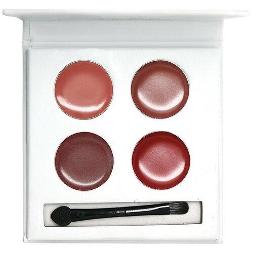 Купить Landa Branda Палетка помад для губ, 4 цвета, оттенок fruit & nut