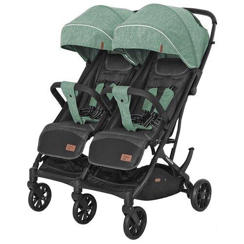 Купить Прогулочная коляска для двойни CARRELLO Presto Duo CRL-5506, tea green, Коляски