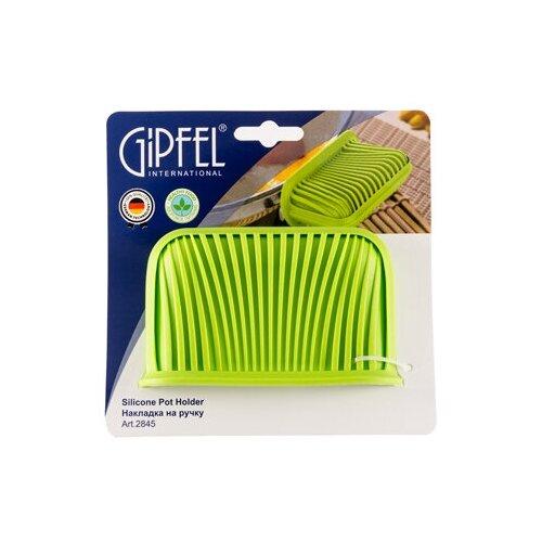 Фото - Прихватка GIPFEL 2845, 11*7 см, зеленый пароварка трехъярусная gipfel attualita 7 7 л