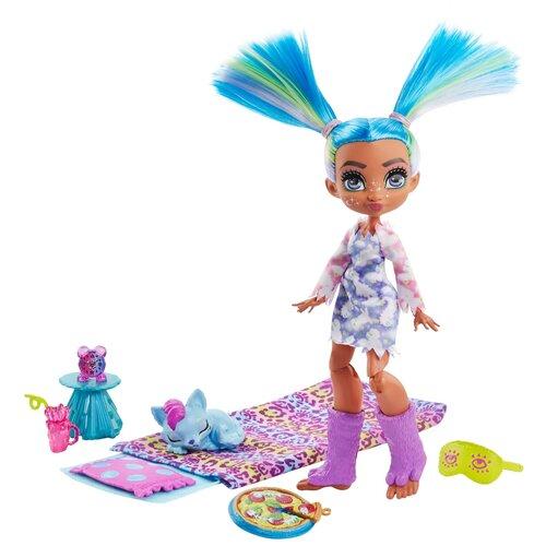 Набор игровой Cave Club Пижамная вечеринка кукла Телла и Ханч, GTH06