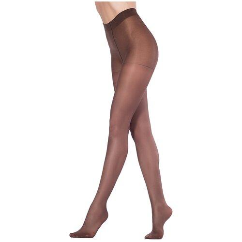 Колготки Omsa Attiva, 40 den, размер 4-L, marrone (коричневый) колготки omsa omsa 40 den размер 4 l marrone коричневый