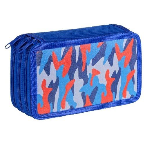 Купить ArtSpace Пенал Синий камуфляж (ПК3_29132) синий, Пеналы
