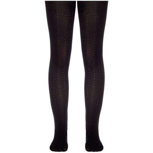 Фото - Колготки Conte Elegant NANCY, размер 116-122, nero колготки conte elegant lucia размер 116 122 bianco