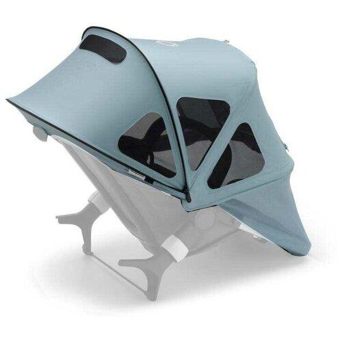 Купить Bugaboo Капюшон от солнца Breezy для коляски Fox 2/Cameleon 3/Lynx vapor blue, Аксессуары для колясок и автокресел